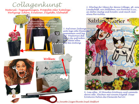 Collage Katze