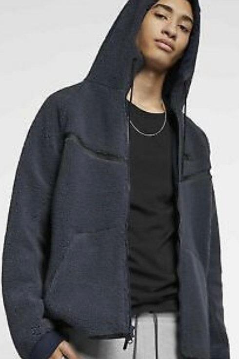 Nike Tech Fleece Sherpa Navy