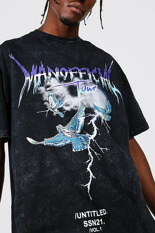 MANOFFICIAL GRAPHIC TEE