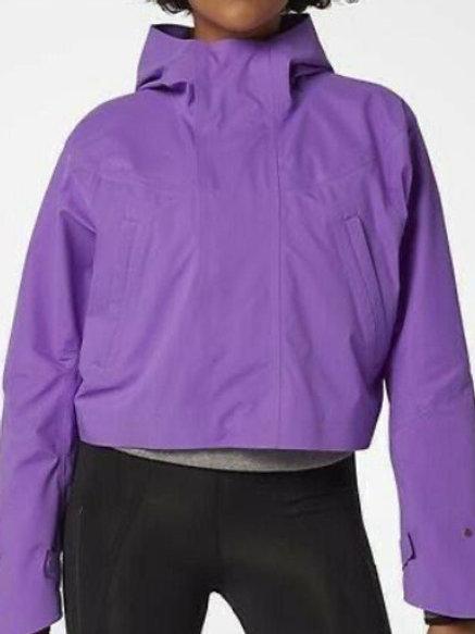 Nike Women's Nikelab City Ready Cropped Jacket Purple