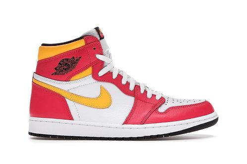 Light Fusion Red Jordan 1