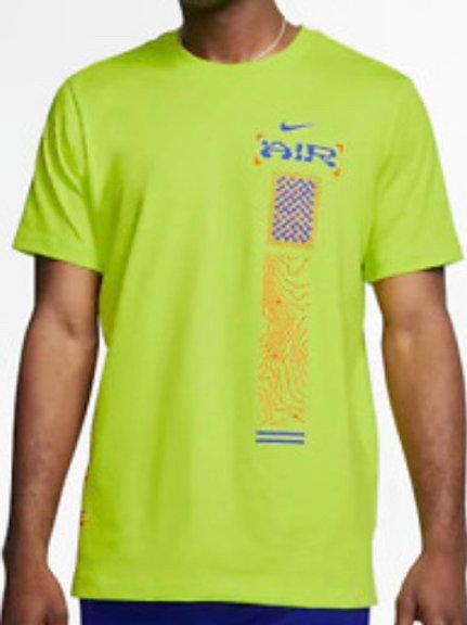 Nike Catching Air T-shirt Cyber Green Blue