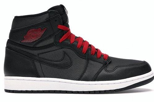 Jordan 1 Satin Gym Red