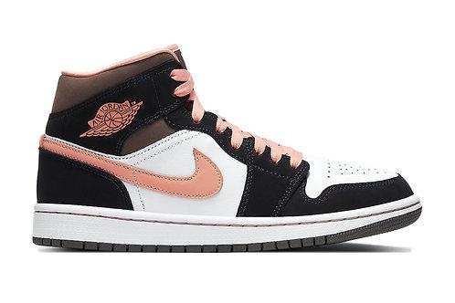 Jordan 1 Mid Peach Mocha