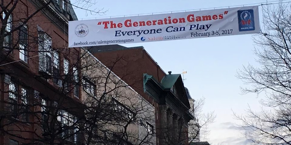 3rd Annual Salem Generation Games