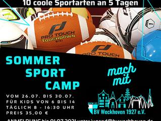 Sommer-Sport-Camp für  Kinder