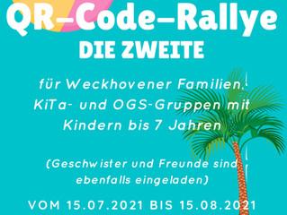 Familiensport-QR-Code-Rallye – DIE ZWEITE