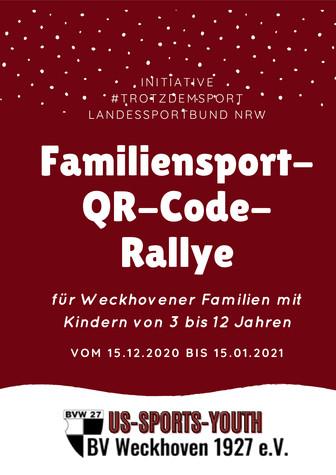 Familiensport-QR-Code-RallyeAb dem 15.12.2020 geht es los!