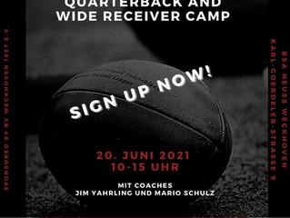 Quarterback and Wide Receiver Camp