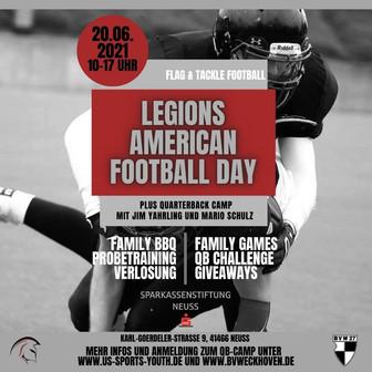 Legions American Football Day
