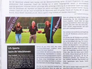 US-Sports beim BV Weckhoven