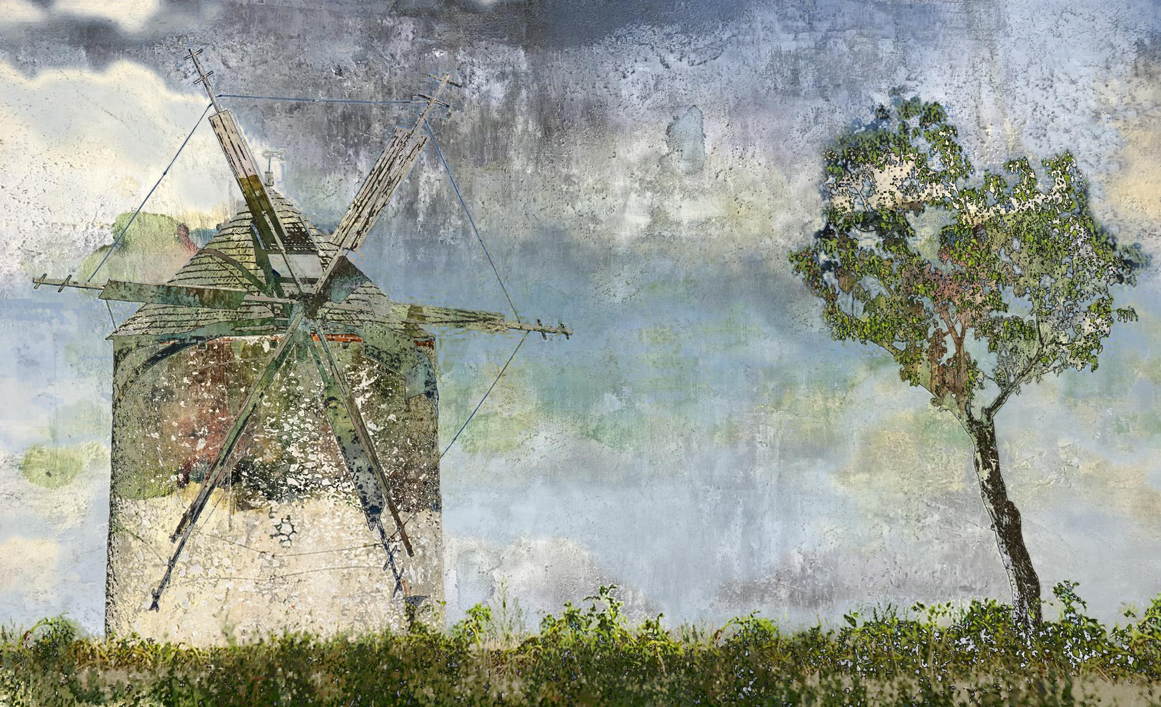 Windmill + Tree