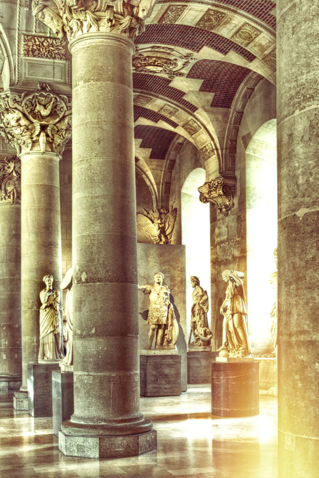 Rays of Light at Louvre | Paris 1382