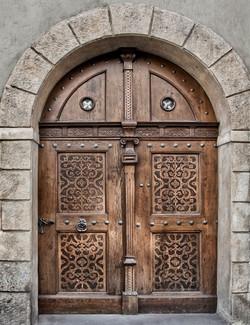 Prague Door 1354