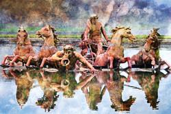 Wild Horses of Versai | Paris France