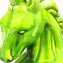 Glass Horse Green 1919