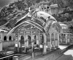 Monkey Temple _ Jaipur, Rajasthan, India 8229