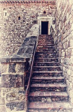 Napa California Castle Stairs