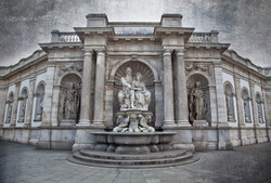 Wall of Albertina Museum Vienna Austria 5045