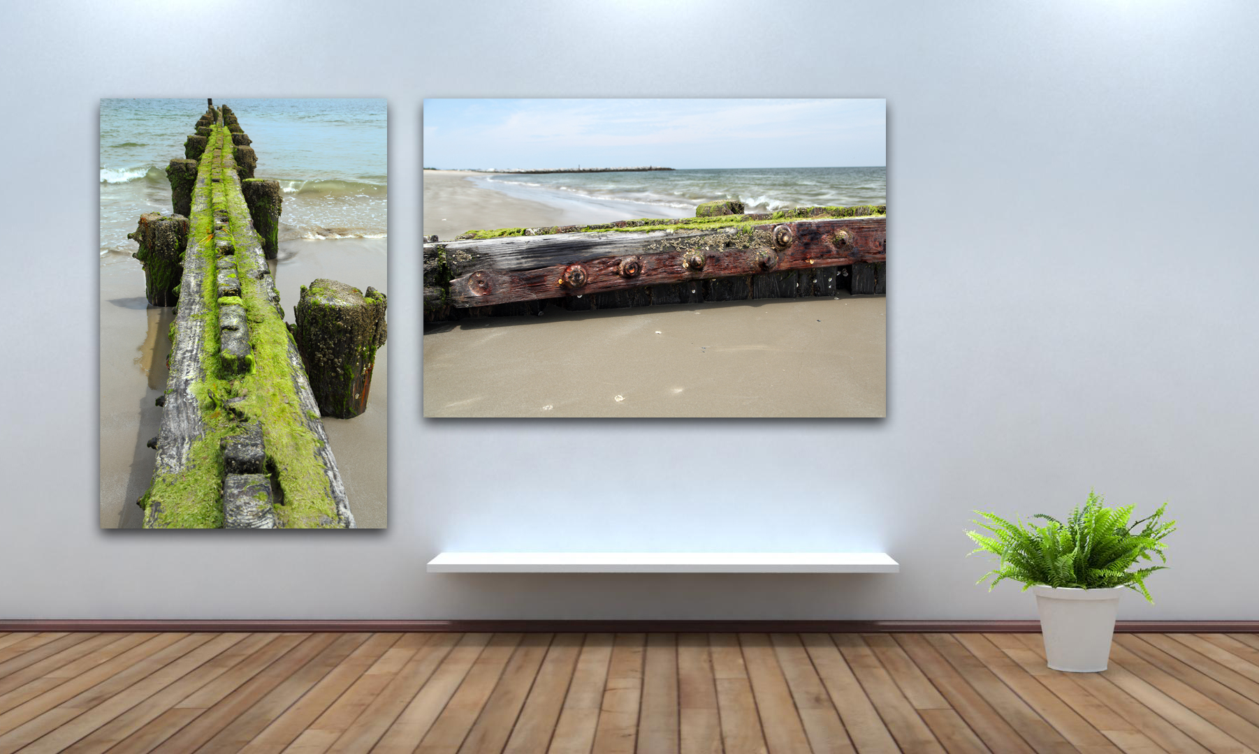 Buckroe Beach Photo Art
