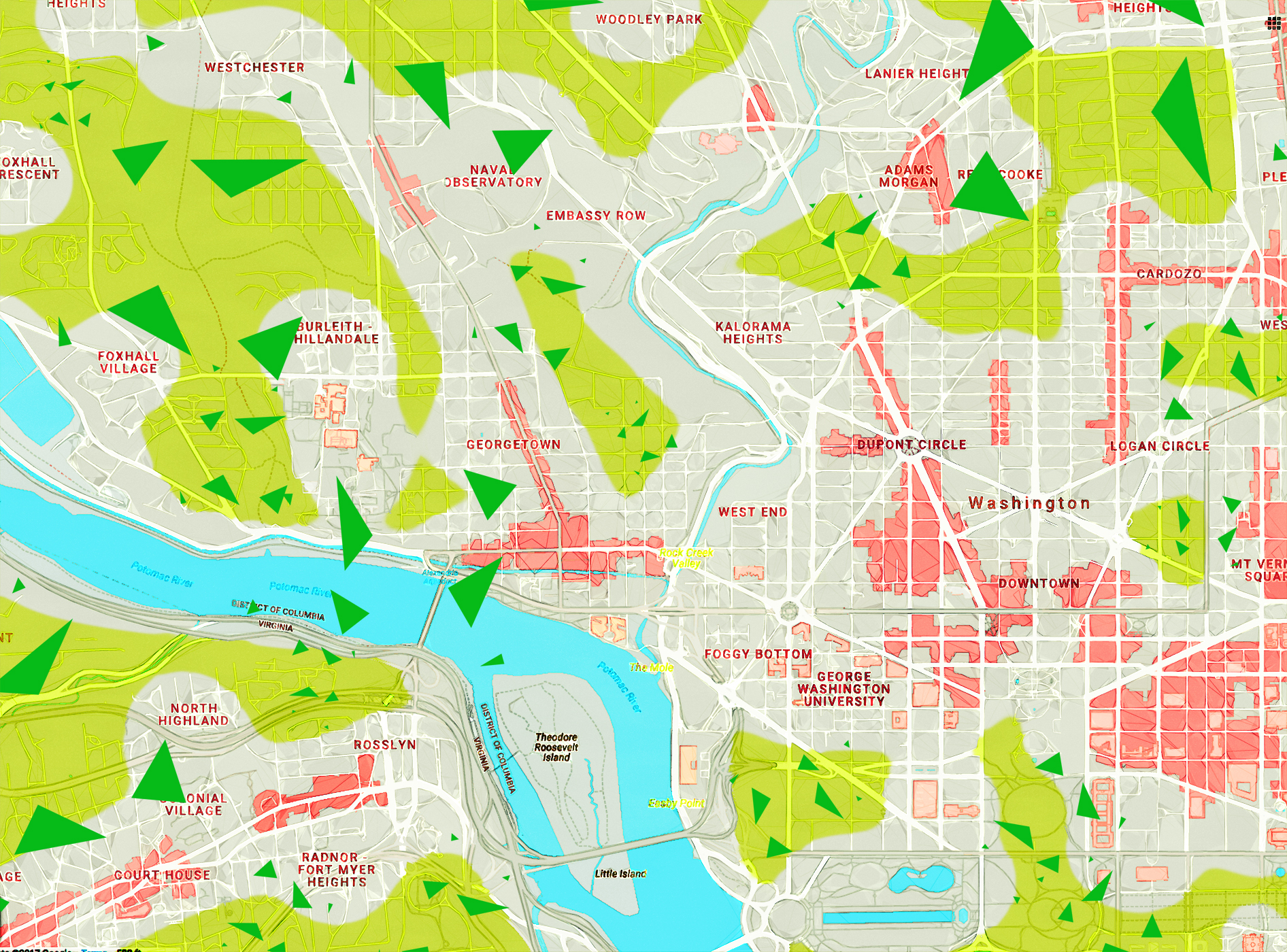 DC Map Dupont - Triangle