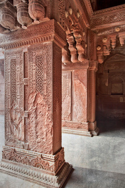 Red Fort Lace   India 8337