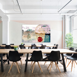 Jefferson Collage in workroom
