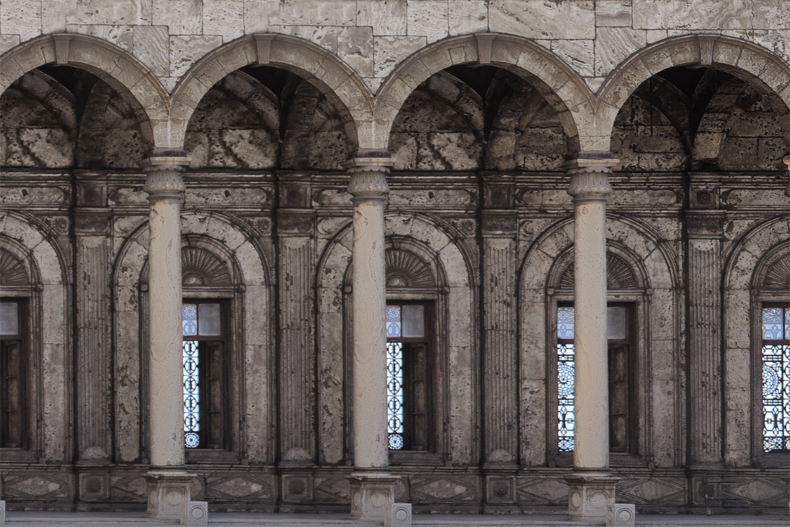 Citadel Arches | Cairo Egypt 9979