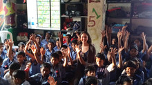 Visit to Orphanage in Pune, India.
