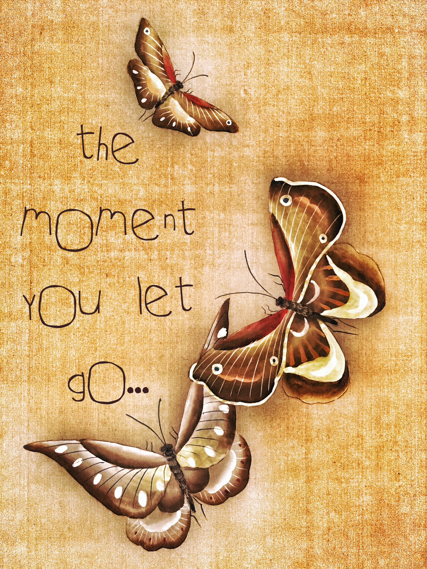 The moment you let go 0508