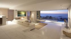 Malibu Sunset in Beach House