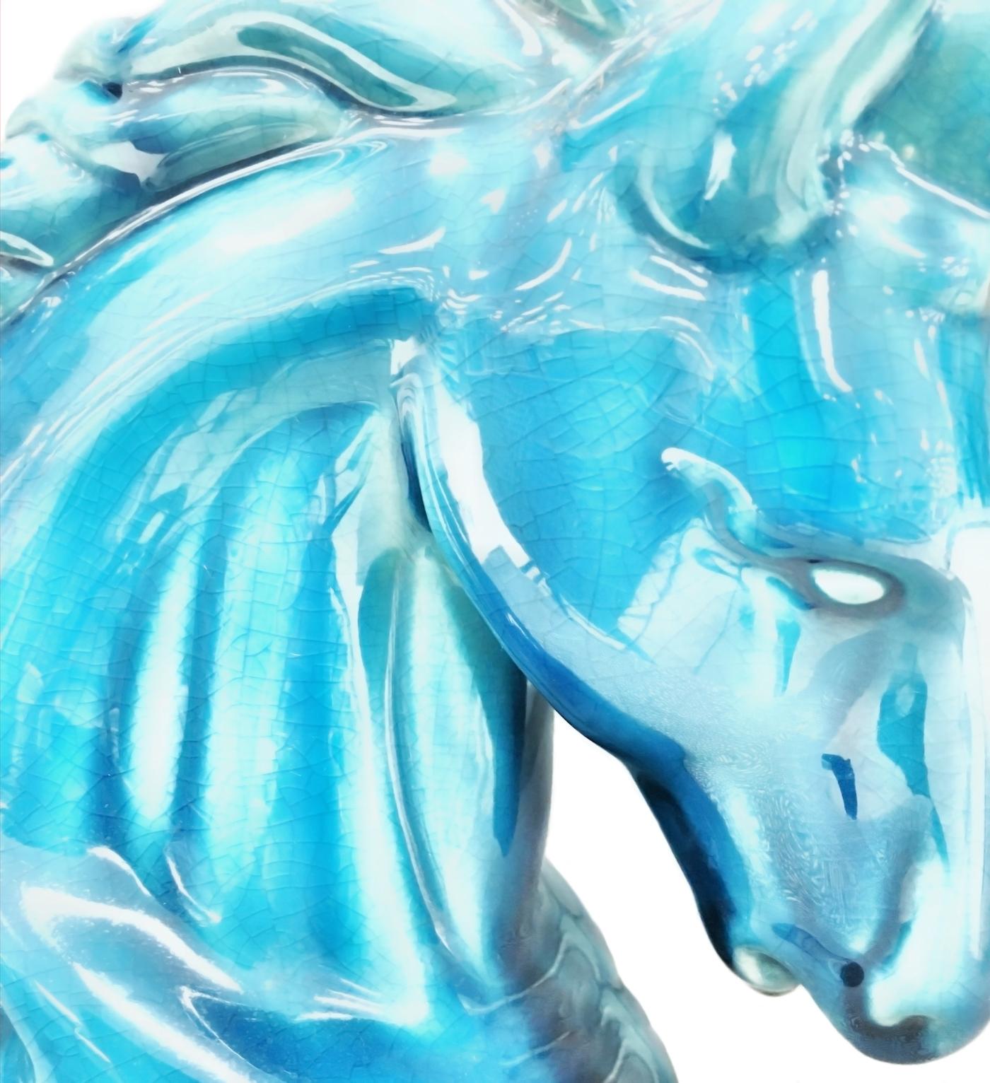 Glass Horse Blue IMG_1919