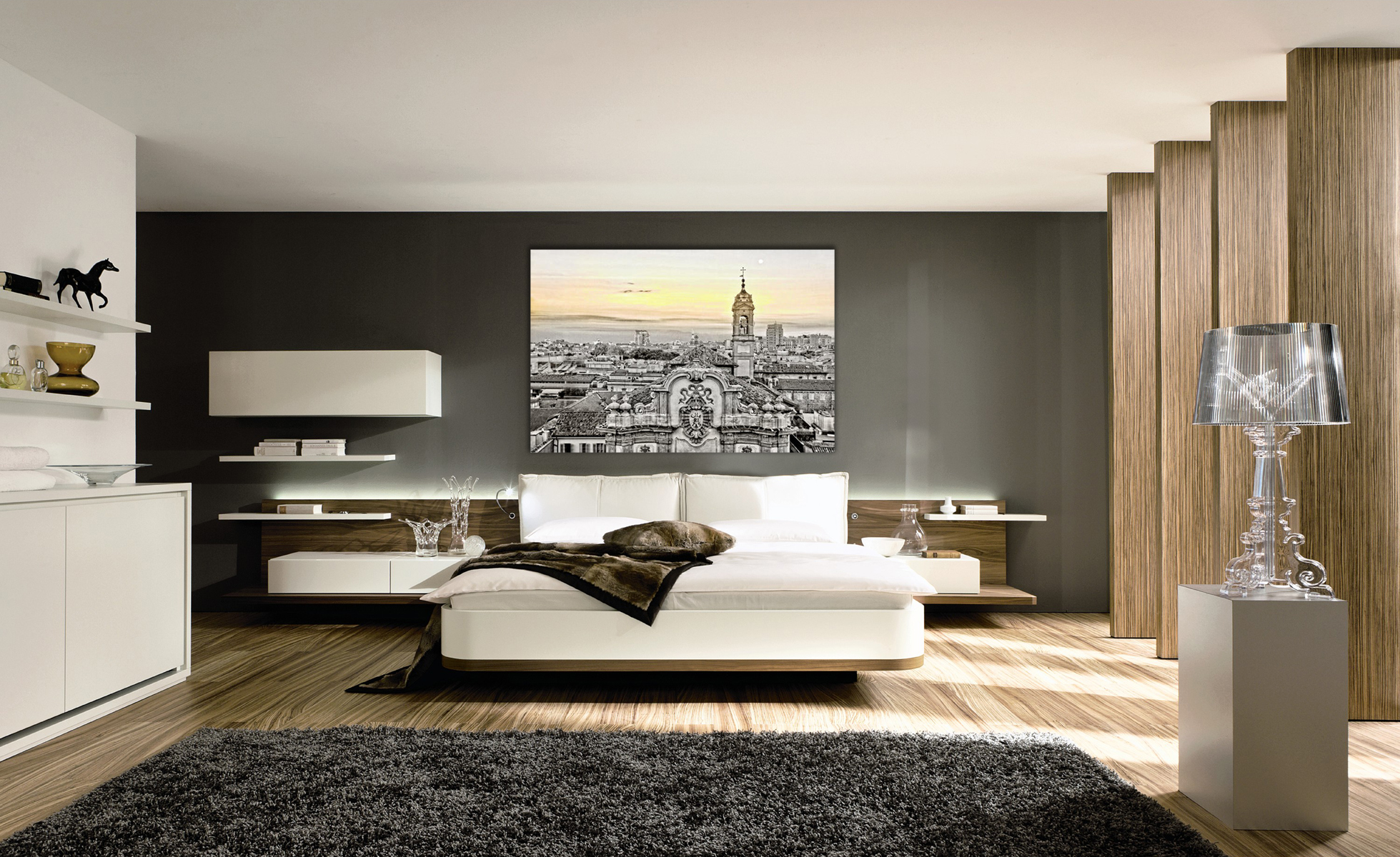 Milan Sunset Photo Wall Art