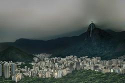 Cristo   Rio Brazil 452 Illuminated