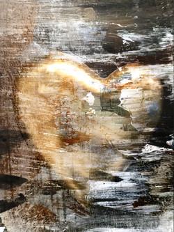 Gold Heart 1584