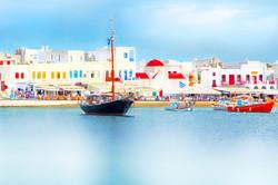 Colors of Mykonos Greece 4432