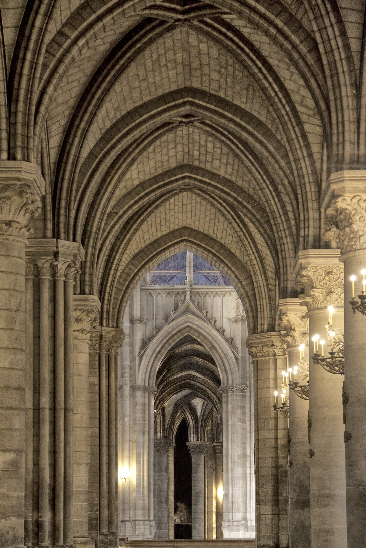 Cathedral Arches | Paris France 1723