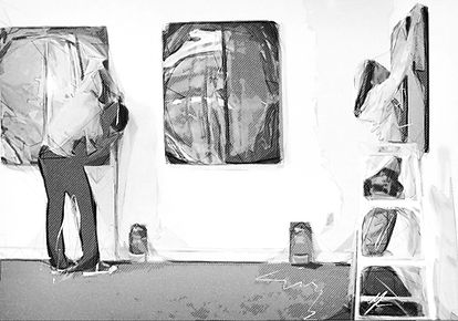 Gallery Fine Art Installation