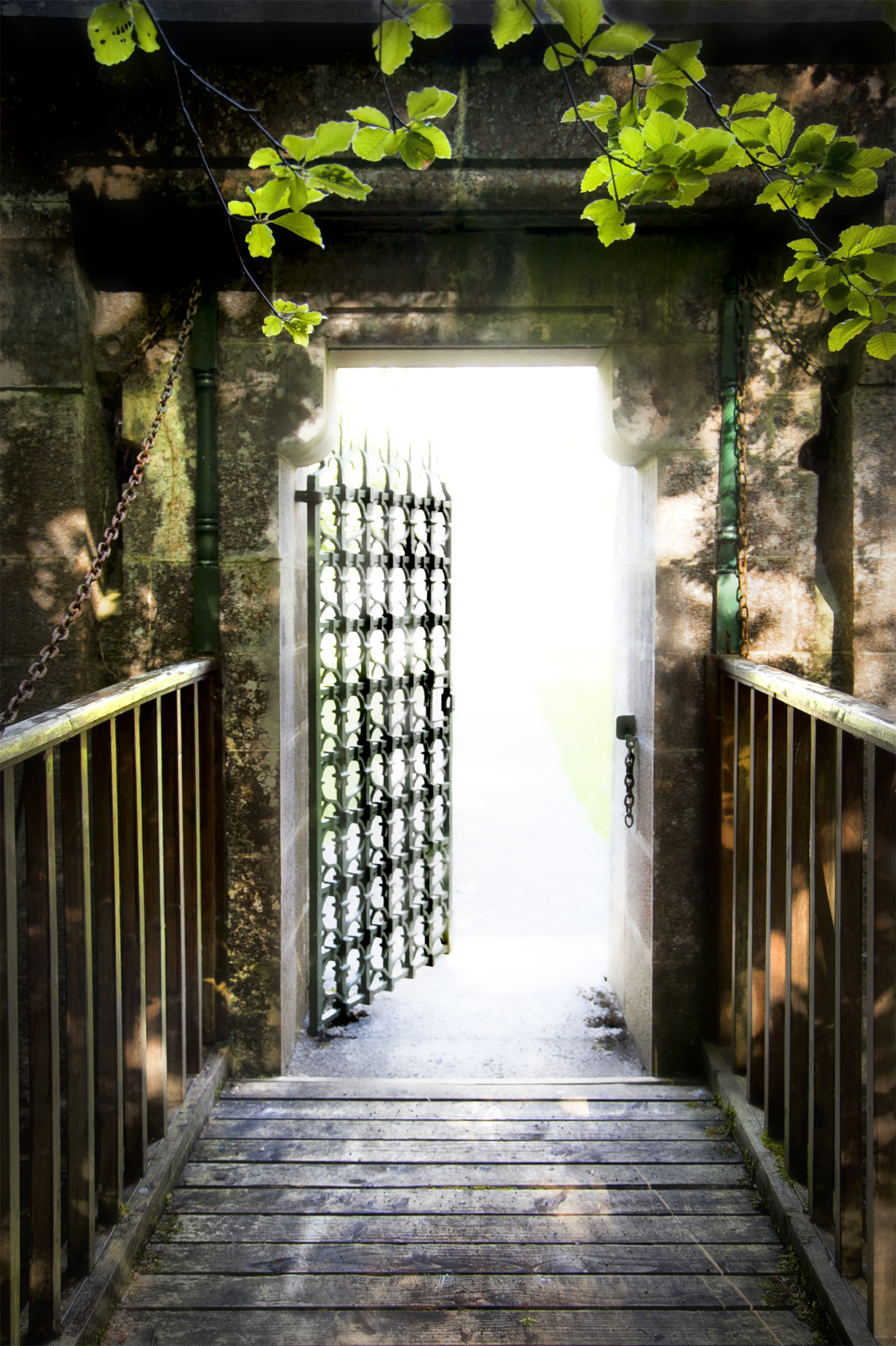 The Gate of Ashford _ Ireland _ 5966