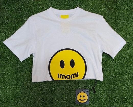 T-SHIRT CORTA IMOMI SMILE STRASS