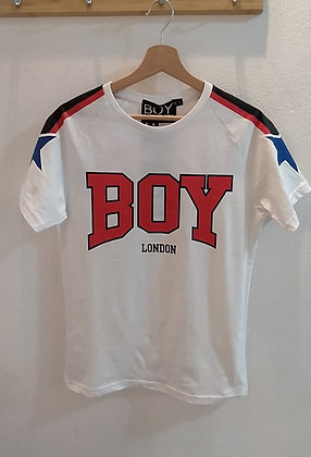 T-SHIRT REGULAR BOY LONDON - BLU6605
