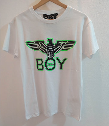 T-SHIRT BOY LONDON LOGO VERDE - BLU7026