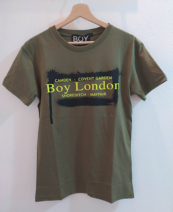 T-SHIRT BOY LONDON VERDE - BLU6962