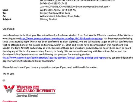 Western Colorado University Emails