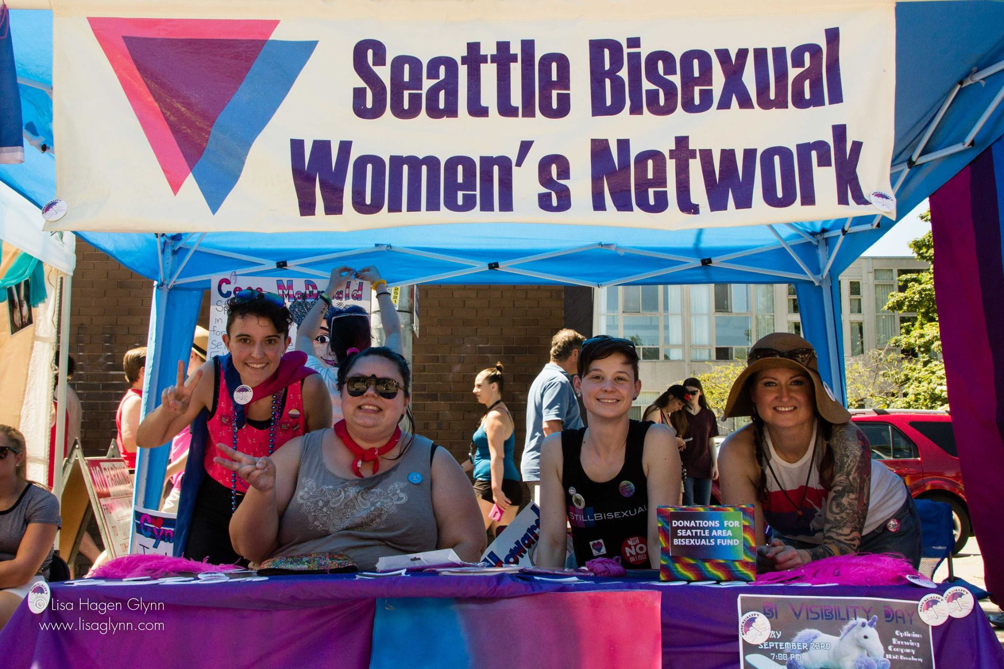 SBWN Booth _ Capitol Hill PrideFest 2017 -photos by Lisa Hagen Glynn Photography
