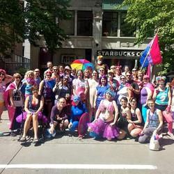 SBWN & BiNet Seattle Marchers '18