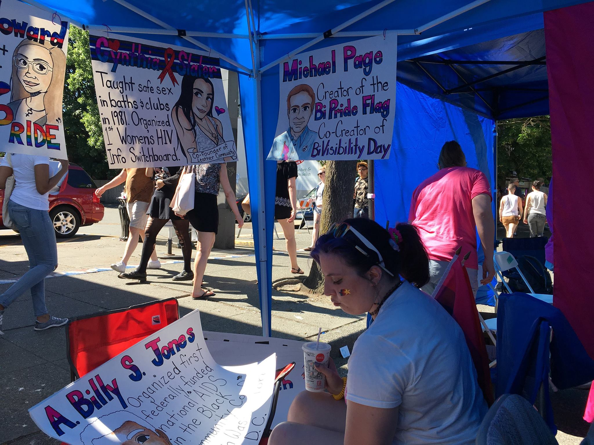 SBWN Booth _ Capitol Hill PrideFest 2017 -photos by Valentina Pagliai(3)