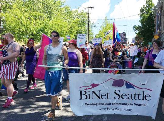 BiNet Seattle & SBWN _ Solidarity Pride March 2017 - photos by Elizabeth Macios Cusimano (6)