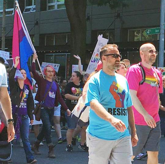 BiNet Seattle & SBWN _ Solidarity Pride March 2017 - photos by Elizabeth Macios Cusimano (3)