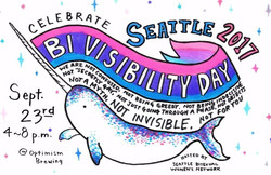 Chelsea Bi Visibility Day Poster